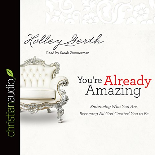 You're Already Amazing audiobook cover art
