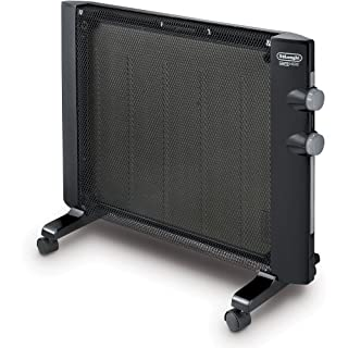 De'Longhi Mica Thermic Panel Heater, Full Room Quiet 1500W, Freestanding/Easy Install Wall Mount, Adjustable Thermostat, 2 Heat Settings, Black, HMP1500 (B005MMN75G)   Amazon price tracker / tracking, Amazon price history charts, Amazon price watches, Amazon price drop alerts