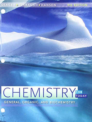 Bundle: Chemistry for Today: General, Organic, and Biochemistry, Loose-Leaf Version, 9th + OWLv2 with MindTap Reader, 4