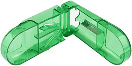 Cxjff Splitter Storage, Pill Cutter Splitter Half Storage Compartment Box Medicine Tablet Holder Big Sales Green