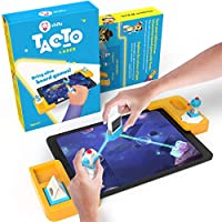 Tacto Laser by PlayShifu (app Based) - Interactive Board Games, STEM Toy for Boys & Girls Ages 5-10