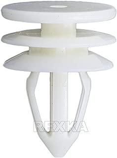 Rexka 20pcs Door Trim Panel Retainers Clips Fasteners Rivets Pins for GMC Envoy Chevy Chevrolet Trailblazer Suburban Silverado 10357004 10360625 15095067 15155113 15205950 15944000 8103570040