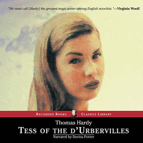 Tess of the d'Urbervilles audiobook cover art