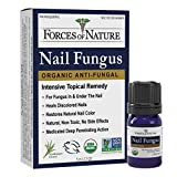 Forces of Nature -Natural, Organic Nail Fungus Treatment (5ml) Non GMO, No Harmful Chemicals, Nontoxic –Fight Damaged, Cracked, Brittle, Discolored Yellow and black Toenails, Fingernails