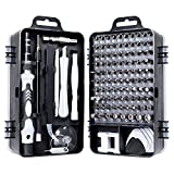 Queta Precision <span class='highlight'>Mechanic</span> Set, Screwdriver Set Precision Mechanism 115 in 1 Kit for Phones/Laptop/Tablet/Watches/Camera/Glasses/Electronics <span class='highlight'>Tool</span> Repair Set