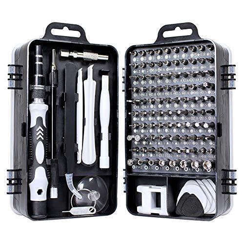 Schraubendreher Set Feinmechanik, Mini Pentalobe Schraubendreher 115 In 1 Kit für Phones/Laptop/Tablet/Uhren/Kamera/Brillen/Elektronik Tool Reparatur Set