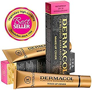 Dermacol Make-up Cover - Waterproof Hypoallergenic Foundation 30g 100% Original Guaranteed (211)