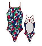 TurboTronic Roses & Skulls Bragas de Bikini, Multicolor, M para Mujer