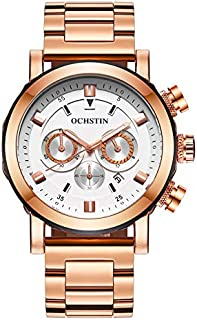 Ochstin Watch for Men, Chronograph, Stainles Steel, GQ064B-W