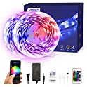 2-Pack Volivo Smart WiFi 16.4 Ft. RGB Color Changing Led Strip Lights