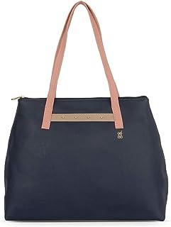 Baggit Spring/Summer '20 Women Tote Navy Blue Handbag