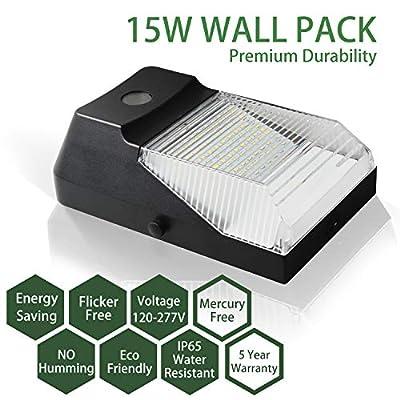 Semi-Cutoff LED Wall Pack Light