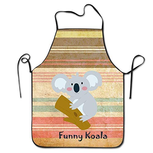 zhengshaolongG Funny Koala Chef Delantal