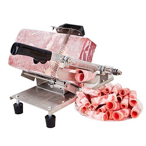 affettatrice elettrica da casa Acciaio inossidabile affettatrice, affettatrici for uso domestico Prime, manuale di affettatrice carne di manzo congelata Rolls vegetale tagliatrice mano Meat Grinder