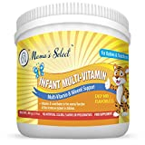 Infant Multi-Vitamins by Mother's Select for Immune Support, Children's Growth & Development, 25-Serving Per Container, No Artificial Colors, Flavors or Preservatives, Natural Baby Vitamins from Mother's Select