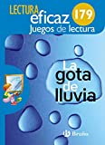 La gota de lluvia Juego de Lectura: 179 - 9788469615249