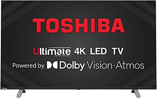 Toshiba 126 cm (50 inches) Vidaa OS Series 4K Ultra HD Smart LED TV 50U5050 (Black) (2020 Model) | With Dolby Vision and ATMOS 1