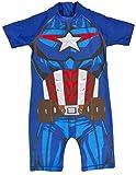 Lora Dora Boys Character Sun Suit Captain America Novelty 2-3