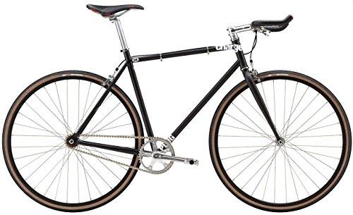 Charge Herren Fahrrad 2015 PLUG 1 Komplettrad Flip Flop Nabe matt schwarz, M