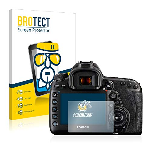 brotect Pellicola Protettiva Vetro Compatibile con Canon EOS 5D Mark IV Schermo Protezione, Estrema Durezza 9H, Anti-Impronte, AirGlass