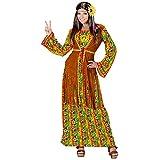 Costume pour femme Hippie Adulte , Multicolore ,XL
