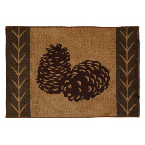 pine cone kitchen rugs - 4