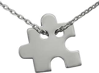 41f71ed6673e Amazon.es: colgante puzzle plata