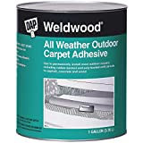 DAP 7079800443 All Weather Outdoor Adh Gal Raw Building Material, Gallon, Tan