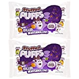 Stuffed Puffs - Halloween Treat Pack, 50 Individually Wrapped Chocolate Filled Marshmallows, Perfect for Trick or Treating, Perfect for S'mores, 2 bags (25 per bag) (15.88oz each)