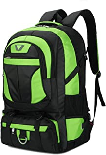 LPFMM Extra Large Outdoor Backpack Multifunction Backpack Laptop Backpack - Suitable for Most Laptop Travel Bags Backpack (Color : Green)