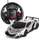 01:24 dynamique de contrôle à distance de voiture Modèle capteur de gravité télécommande au volant de voiture rechargeable Professional Racing électrique Drift haute vitesse voiture de sport for enfan