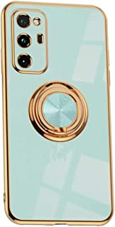Hicaseer Case for Huawei Honor V30 Pro,Ultra-Thin Ring Shockproof Flexible TPU Phone Case with Magnetic Car Mount Resist D...