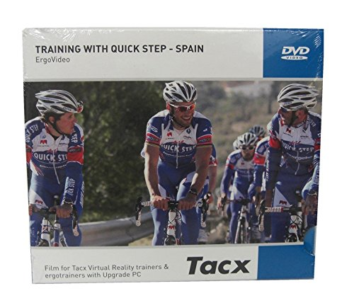 DVD Tacx Virtual Reality T 1957.15 Training mit Quick Step