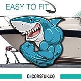 Squalo–Adesivo per barche–barca adesivi–Boat/marine/frigo/finestra/auto/laptop