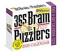 Mensa® 365 Brain Puzzlers 2020 Calendar