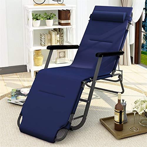 CYQ Tumbonas y sillones reclinables para jardín, Azul Marino, Muebles de Exterior,...
