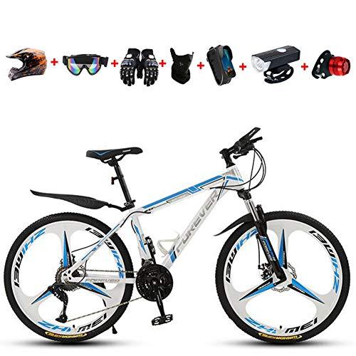 WHYTT 21 Velocidades Bicicleta Plegable MTB Viajeros 26 Pulgadas MTB Bicicleta De...