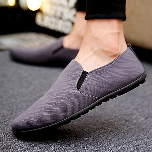 Fnho Botas de montaña Deportivas,Zapatos de Senderismo al Aire Libre,Calzado Casual Transpirable, Zapatos de Hombre de Mano Baja Simple-Grey_39