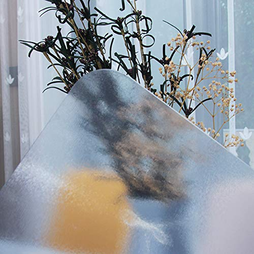 Mantel de Cocina A Prueba de Derrames,Cubierta de Mesa de PVC Plástico Grueso Mate,Mantel Transparente de Vidrio Suave,para Mesa de Centro,Mesa de Comedor,Escritorio (90x160cm/35x63in)