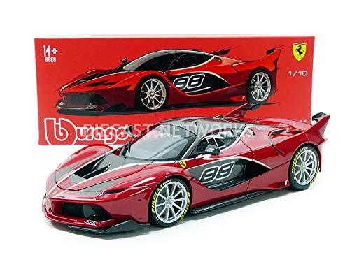 Bburago Ferrari FXX-K #88 Red Signature Series 1/18 Diecast Model Car by 16907R