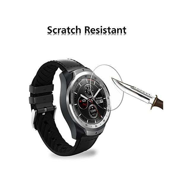 ivoler 4 Unidades Protector de Pantalla para Huawei Watch GT/Huawei Watch GT Active/Huami Amazfit Verge/Amazfit Verge… 6