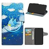 HHDY Xiaomi Mi 9 Funda Diseño PU Cuero Libro Soporte Plegable y Ranuras para Tarjetas Dibujos Caso...