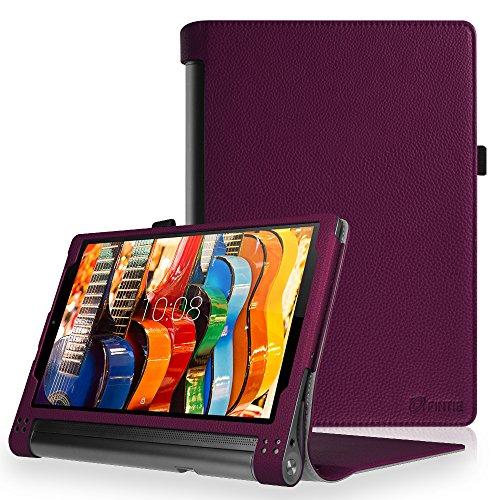 Fintie Lenovo Yoga Tab 3 Plus / 3 Pro Hülle - Premium Kunstleder Schutzhülle Tasche mit Standfunktion für 10,1