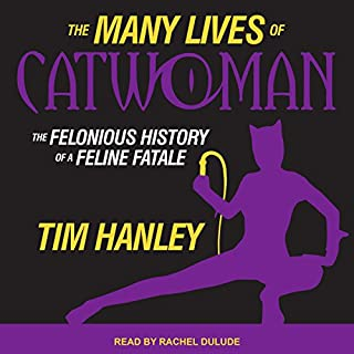 The Many Lives of Catwoman audiobook cover art