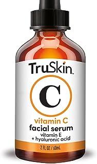 TruSkin ビタミンCフェイシャルセラム ヒアルロン酸とビタミンE配合のフェイシャルセラム 2オンス(約60ml) TruSkin Vitamin C Serum with Hyaluronic Acid, Vitamin E, Organ...