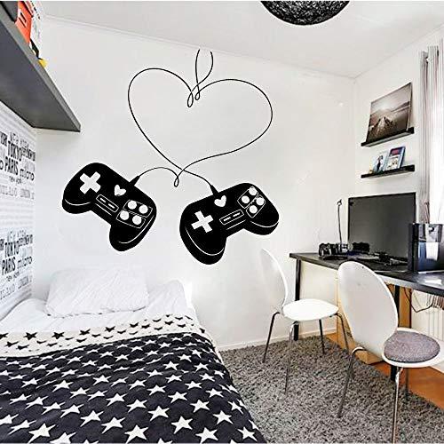 HGFDHG Controlador de Juegos de Amantes para Dormitorio, Sala de Juegos, decoración del hogar, Vinilo, Etiqueta de la Pared