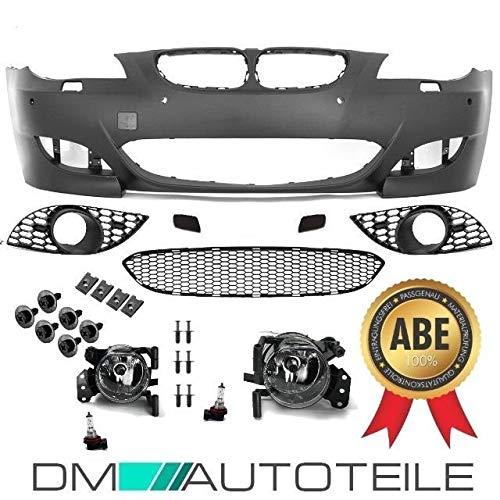 DM Autoteile Sport Stoßstange für SRA/PDC+Nebel Set 07-10 passt für E60 E61 außer M5 ABE*