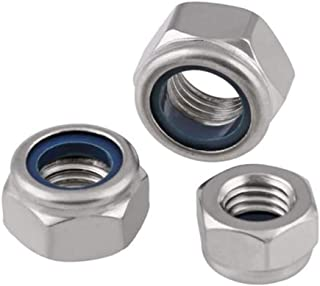 Nuts M8 M10 M12 M14 M16 DIN934 316 Stainless Steel Nuts 316ss Hexagonal Hexagon Full Metric Thread Hex Nut Size: 4pcs M12