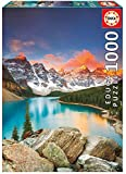Educa - Lago Moraine, Banff National Park, Canadá Puzzle, 1000 Piezas, Multicolor (17739)