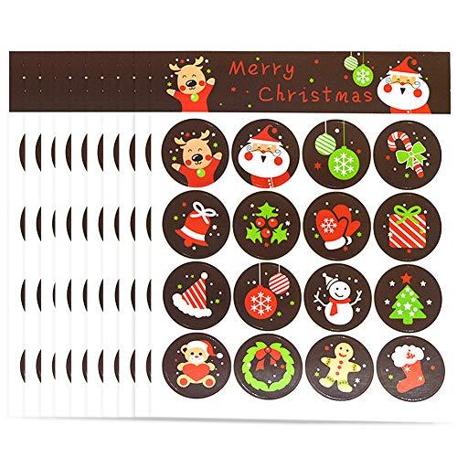 Etiquetas Navidad Nombre Marca Vidillo